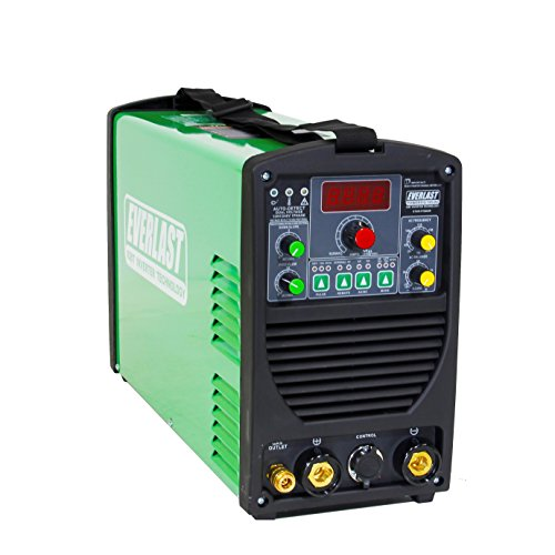 2019 Everlast PowerTIG 185 DV AC/DC TIG Stick Welder 110/220 Volt Inverter-based Dual Voltage 185AMP