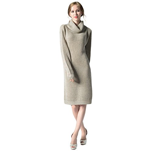 Women Long Sweater Dress | Turtleneck Sweater Dress Women | Cowl Neck Sweater Dresses