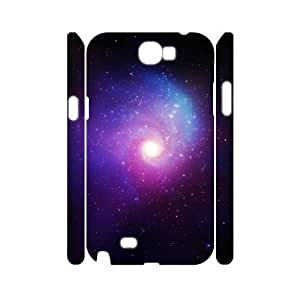 3D Vety Galaxy Case for Samsung Galaxy Note 2, with White