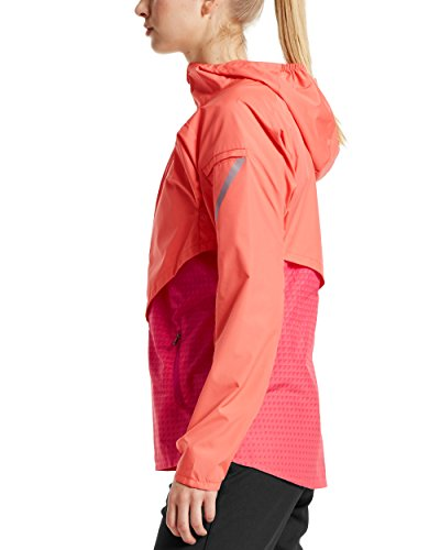Mission Women's VaporActive Barometer Running Jacket, Emberglow/Beetroot Purple Ombre, X-Small by Mission (Image #3)