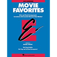 Image for Essential Elements Movie Favorites: Eb Alto Saxophone (Essential Elements Band Method)