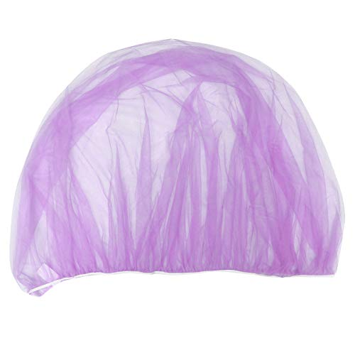 NUOBESTY Baby mosquito net for strollers carriers car seats cradles (purple):