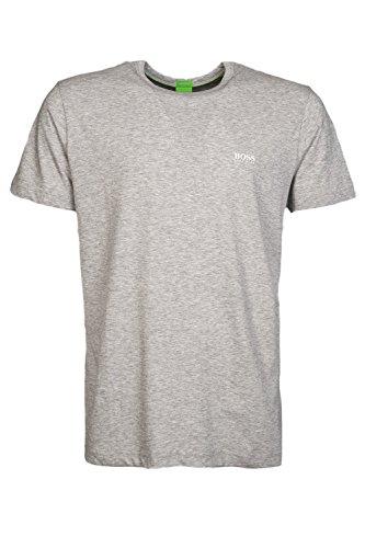 Hugo+Boss+Green+Crew+Neck+T-Shirt+XL+Light+Gray