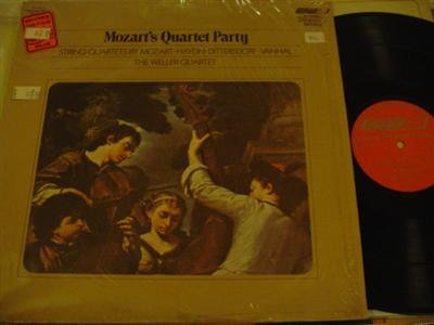(Mozart's Quartet Party - Mozart: String Quartet in G Ma., K. 156 ~ F. J. Haydn: String Quartet in D Ma., Op. 1 No. 3 ~ Dittersdorf: String Quartet No. 5 in E Flat Major ~ Vanhal: String Quartet in F Ma.)