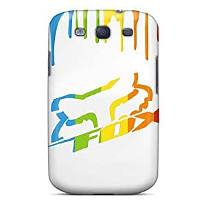 Galaxy S3 Cases Covers - Slim Fit Tpu Protector Shock Absorbent Cases (fox Racing) by supermalls