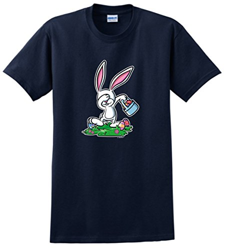 [Easter Bunny Costume Easter Christian Easter Chocolate Bunny Dabbing Easter Bunny Funny Easter Gifts T-Shirt 3XL] (Plus Size Easter Bunny Costumes)
