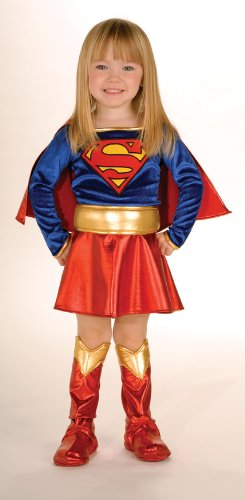 Super DC Heroes Supergirl Toddler Costume,