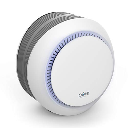 Pure Enrichment PureZone™ Halo Air Purifier - True HEPA Filter Cleans Air, Helps Alleviate Allergies, Removes Pet Hair, Smoke & More — For Home, Bedroom & Office Desktops
