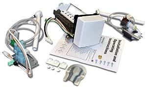 Whirlpool 4396418 Whirlpool Refrigerator Ice Maker Kit for Whirlpool, KitchenAid, Maytag, and Amana