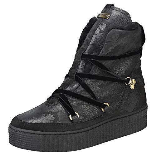 Hilfiger Boot Black Tommy Bottes Warmlined Neige Femme Cozy Leather de 990 Noir OZdgZqpn