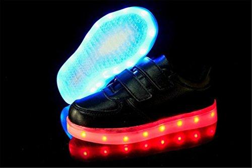 ... (Present:kleines Handtuch)JUNGLEST® 7 Farbe LED Leuchtend Aufladen USB  Kinderschuhe Paare