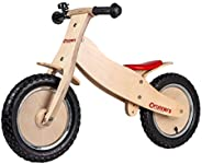 Runners-Bike | Premium CLASSIC WOODEN Balance Bike for Toddlers and Kids – Ages 2-5 Years – Seat Adjustable fr