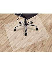 """Dinosaur-SG Office Chair mat for Hard Floors, Transparent Floor Mats, Easy Glide for Chairs,Wood/Tile Protection Mat for Office & Home (30""""X48"""" Rectangle)"""