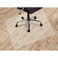 Dinosaur-SG Office Chair mat for Hard Floors, Transparent Floor Mats, Easy Glide for Chairs,Wood/Tile Protection Mat for…