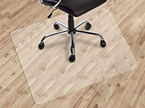 "Dinosaur-SG Office Chair mat for Hard Floors, Transparent Floor Mats, Easy Glide for Chairs,Wood/Tile Protection Mat for Office & Home (30""X48"" Rectangle)"