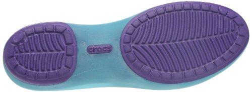 Flats Aqua Toe Women's Open Ultraviolet Crocs Carlie 4Z0pI