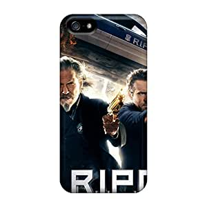 Tpu Shockproof/dirt-proof Ripd Movie Cover Case For Iphone(5/5s)