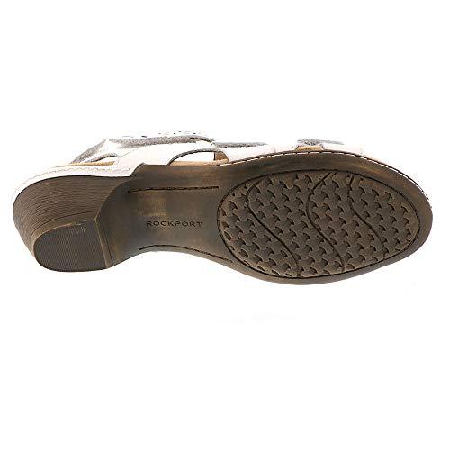 Women's Strap Ch Shoes White Verona Rockport Lthr 3 qwFxgzzp1
