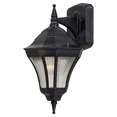 Minka Lavery Outdoor Wall Light 8201-94-PL Segovia Exterior Wall Lantern, 13 Watts Fluorescent, Heritage