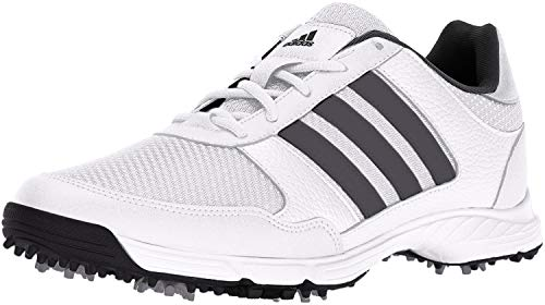 adidas Men's Tech Response Golf Shoe, White, 9.5 M US