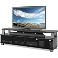 Bowery Hill 75 TV Stand in Ravenwood Black