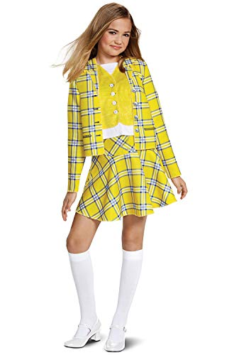 Disguise Cher Suit Classic Child Costume, Yellow,