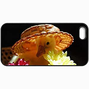 Fashion Unique Design Protective Cellphone Back Cover Case For iPhone 5 5S Case Duck Black
