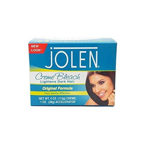 Jolen 4 Ounce Creme Bleach Regular Lightens Excess Dark Hair (118ml)
