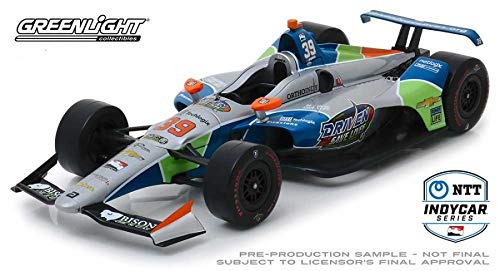 Dallara Indy Car #39 Pippa Mann Driven 2 Save Lives Clauson-Marshall Racing 1/18 Diecast Model Car by Greenlight -