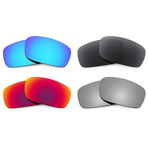 Revant Combo de 4 pares de lentes polarizados, de reemplazo, para ...