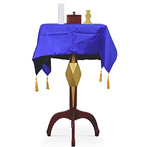 blue-ther Mult-Function Square Floating Table with Anti Gravity Box Flower Pot Candlestick Magic Tricks Amazing Stage Magic Illusion Props