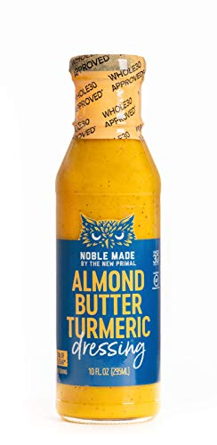 🥇 The New Primal Almond Butter Turmeric Dressing & Marinade