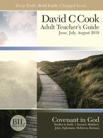 Bible-in-Life   Adult Comprehensive Bible Study Teacher's Guide   Summer 2019 from Bible in Life