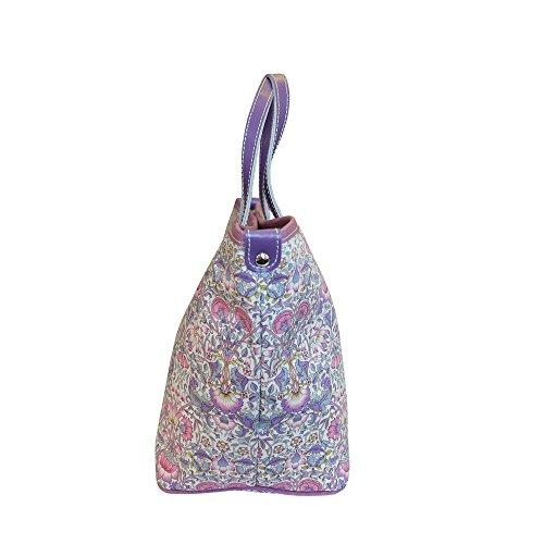 Bonfanti Liberty Lodden Imprimer sac fourre-tout shopper Sac à main épaule - Rose