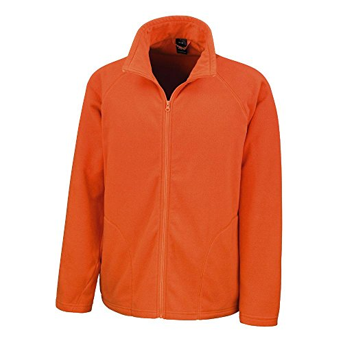 Result - Unisex Micron Fleecejacke / Orange, 3XL