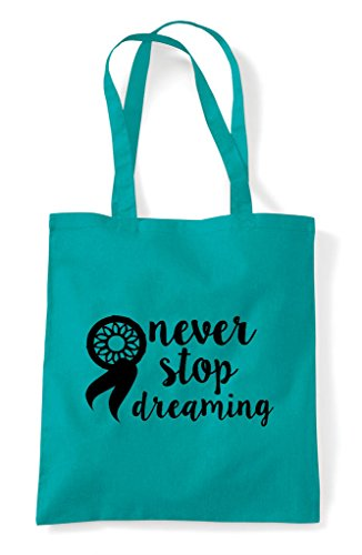 Tote Shopper Stop Dreamcatcher Emerald Statement Never Dreaming Bag wnp4xHqwIY