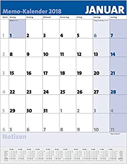 Memo kalender 2018 9783731828754 amazon books memo kalender 2018 stopboris Gallery