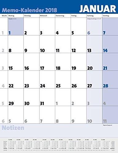 Memo kalender 2018 9783731828754 amazon books stopboris Image collections
