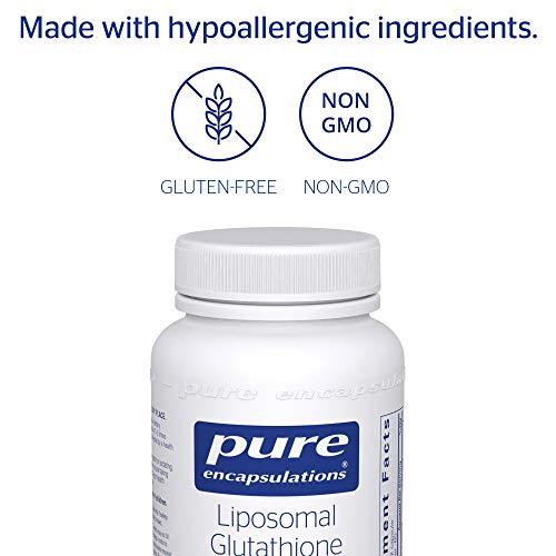 Pure Encapsulations - Liposomal Glutathione - Antioxidants, Liver Support and Detoxification* - 60 Softgel Capsules by Pure Encapsulations (Image #3)