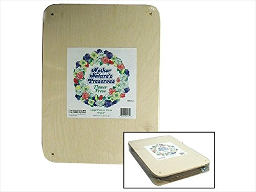 Mother Nature's Preserves Flower Press Lg FlowerPressLg -
