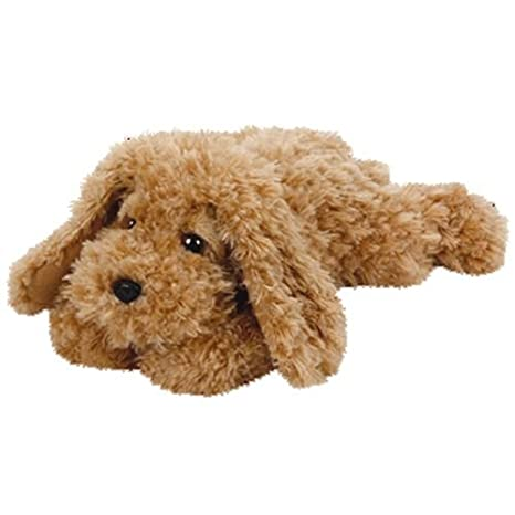 Amazon.com  TY Classics BAYLEE - tan dog Plush  Toys   Games 7d8d08ea4ad6