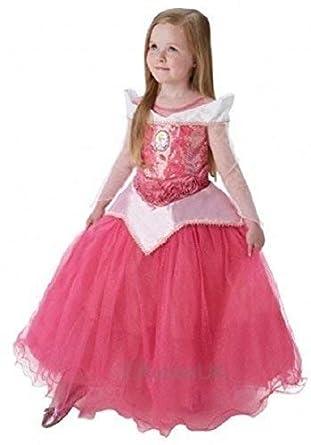 a827666a629 Disney Officiel Filles Super Deluxe à Paillettes Princesse Conte Fées Livre  Jour Semaine Halloween Déguisement Costume