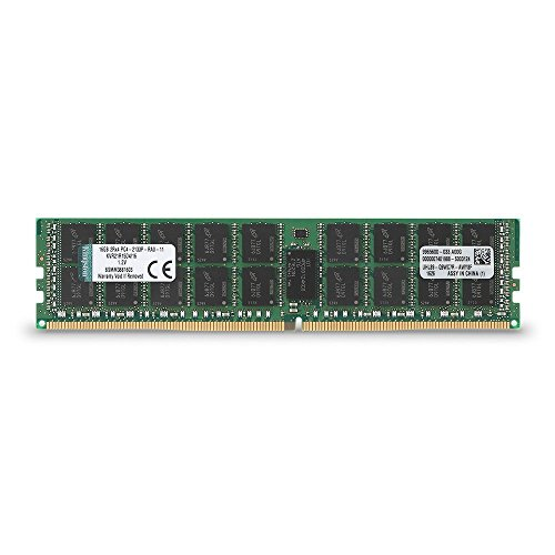 - Kingston Technology ValueRAM 8GB 2400MHz DDR4 ECC CL17 DIMM 1Rx8 Desktop Memory (KVR24E17S8/8)