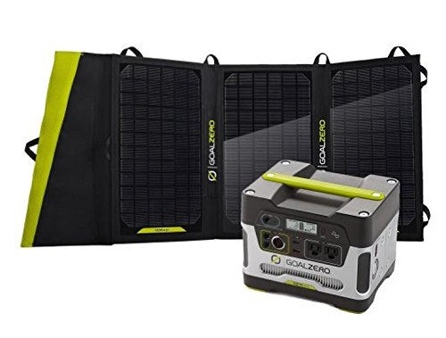 Goal Zero Yeti 400 Solar Generator Kit Review
