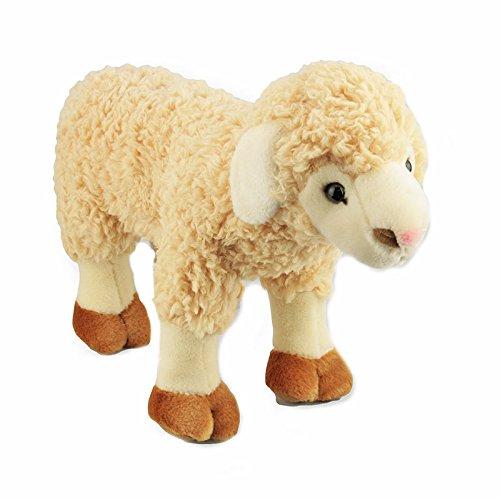 Bocchetta Plush Toys Sheep Stuffed Animal Plush Toy Standing Medium Barbarella Cream