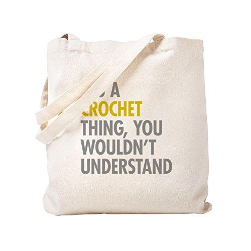 (CafePress - Its A Crochet Thing - Natural Canvas Tote Bag, Cloth Shopping Bag)