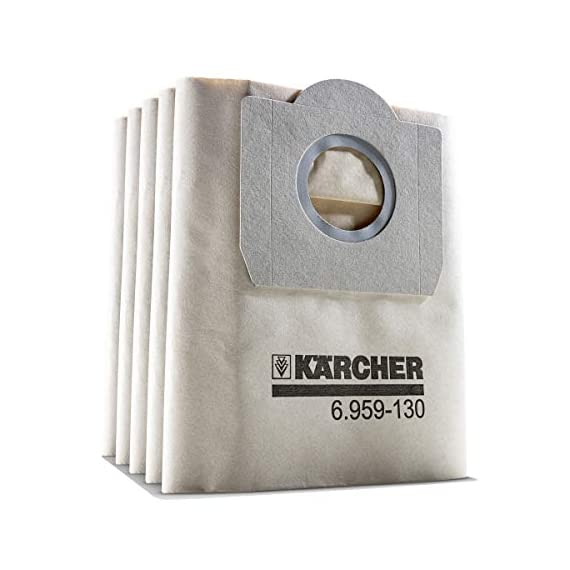 Karcher set of 5 paper filter dust bags for wd 3.200 and Mv3 vacuum cleaner 1