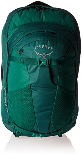 Osprey Packs Fairview 55 Women's Travel Backpack, Rainforest Green, Small/Medium