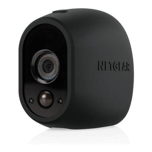 Arlo交換可能シリコンスキンブラック( vma1200b ) /一意Designed for the Arloワイヤレスカメラ B01KY6NNF8