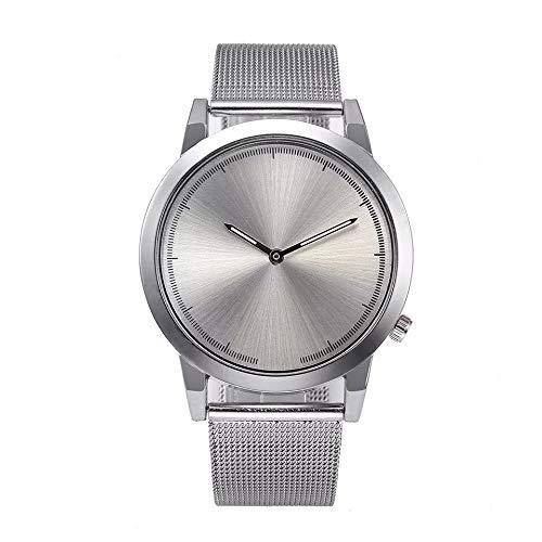 Modaworld Reloj Mujer, Reloj de Pulsera clásico de Acero Inoxidable con Cuarzo Dorado para Mujer Retro Estilo Romano Cuarzo Reloj de Pulsera Mujeres ...